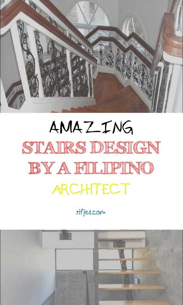 Amazing Stairs Design by A Filipino Architect New House Stairs