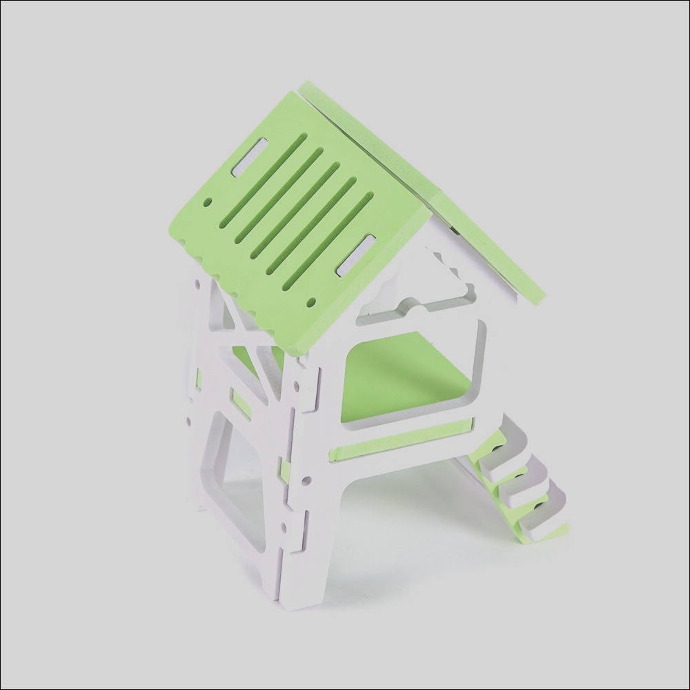 solid wood stairs hamster house guinea pig cage small animal nest hamster house rat cage pet play game rat house supplies