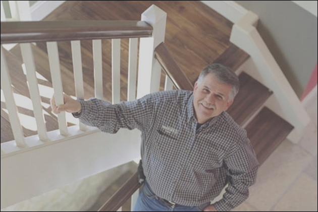 how to fix noisy wooden stairs