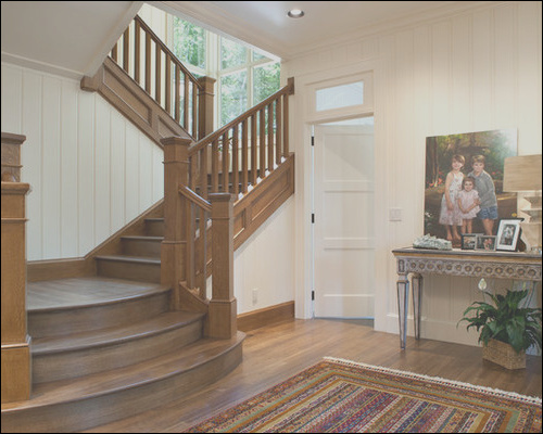 indoor wide bottom staircases