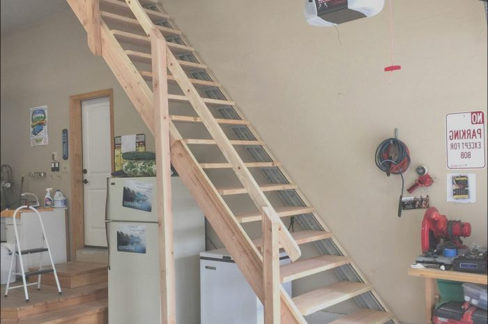 11 Awesome Building Stairs to Garage attic Gallery
