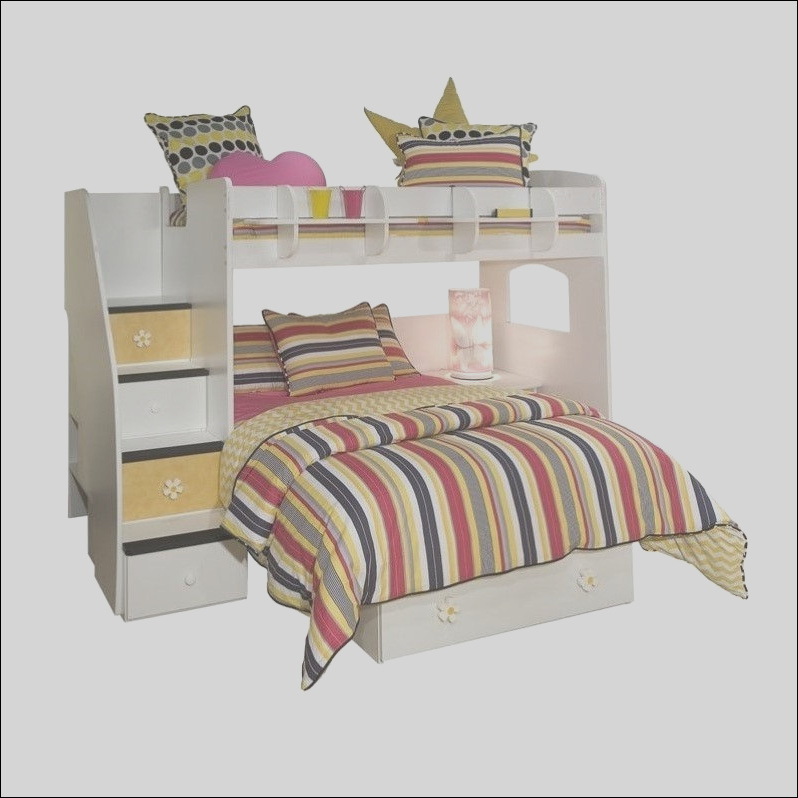girl bunk beds with stairs