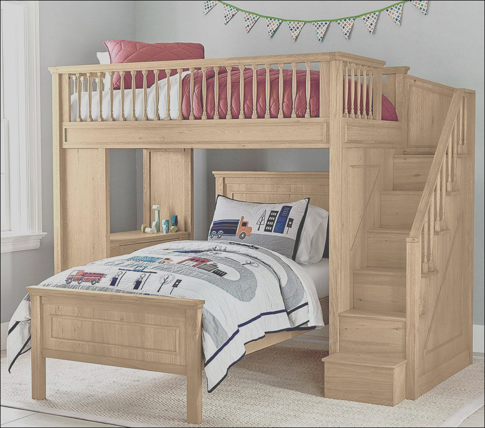 fillmore stair loft bed lower bed set