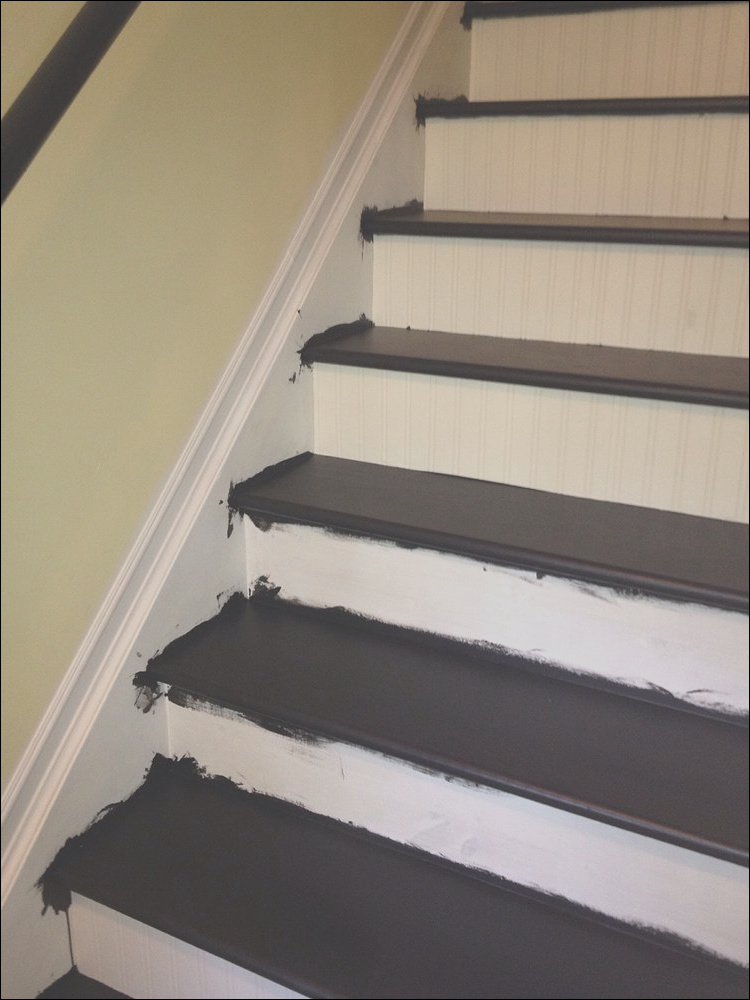 interior stairs makeover