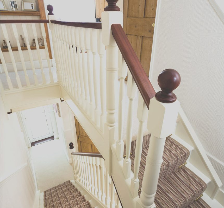 Can You Paint Interior Stairs Beautiful Traditional Painted Staircase Neville Johnson