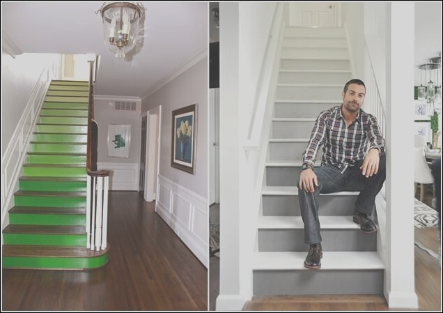10 super cool ways paint stairs