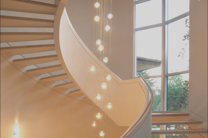 9 Nice Contemporary Lights for Stairs Gallery