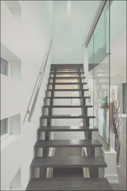 Modern open stairs modern staircase