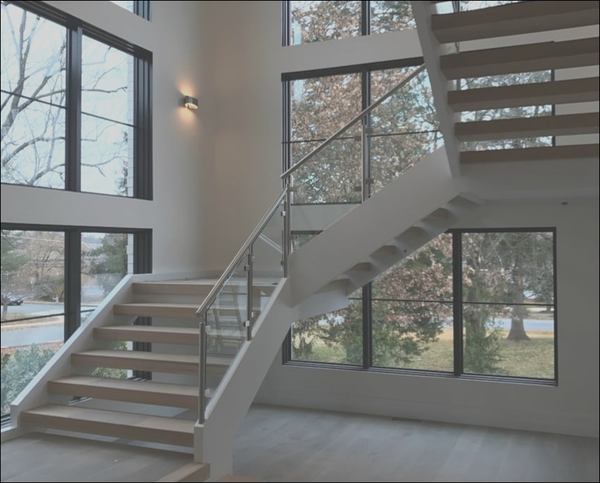 stair design photo of the month modern open riser staircase