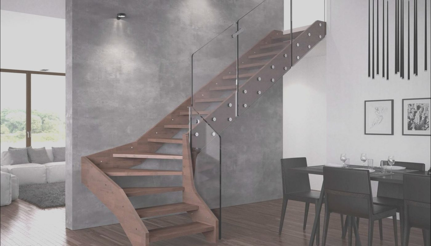 Contemporary Open Staircase New Contemporary Open Wooden Frame Staircases with Glass