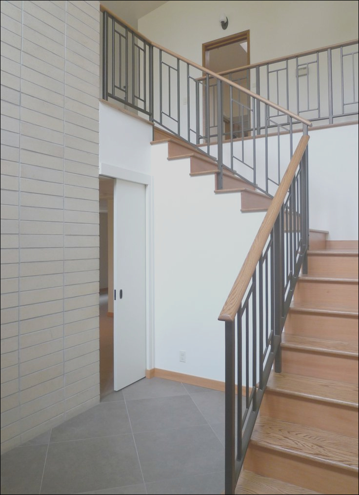 contemporary stair rail systems stainless glass et