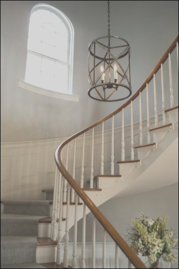 45 ways decorate chandelier stairs