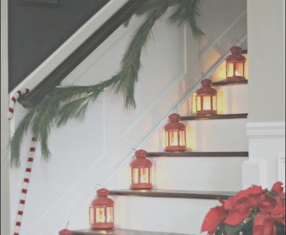 11 Stunning Decorating Stairs with Lanterns Photography