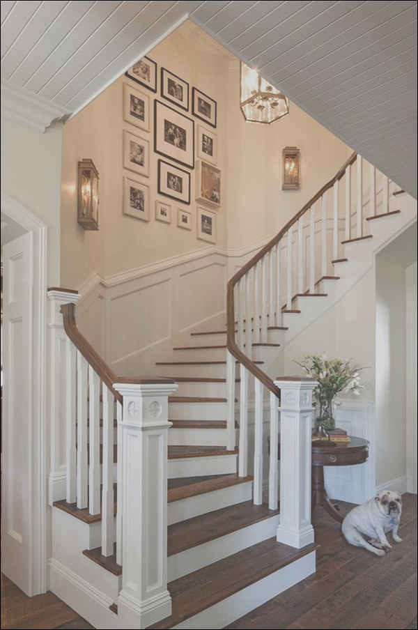 must try stair wall decoration ideas