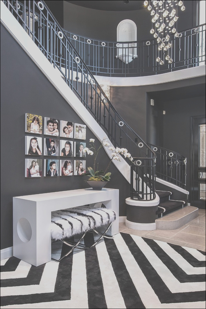 how to the look glamorously decorated home entrances