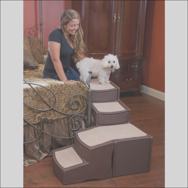 L shape easy step pet stairs