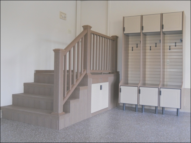 garage entry stairs