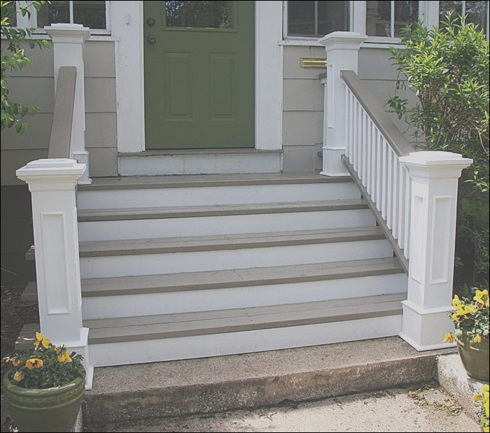 front step patterns