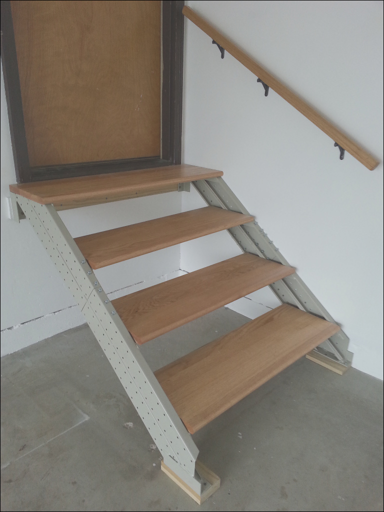 indoor stairs stair kits for basement attic deck loft storage and more