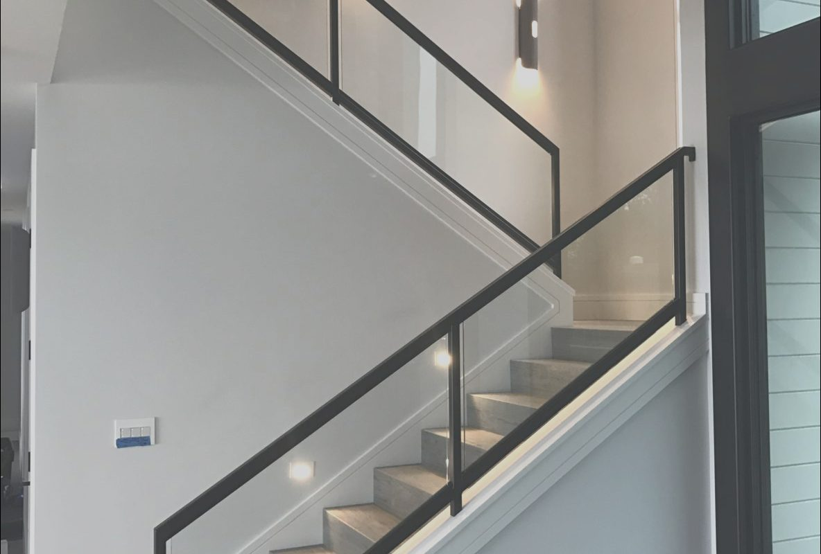 Glass Stairs Interior Beautiful Interior Glass Stair Railing Ot Glass