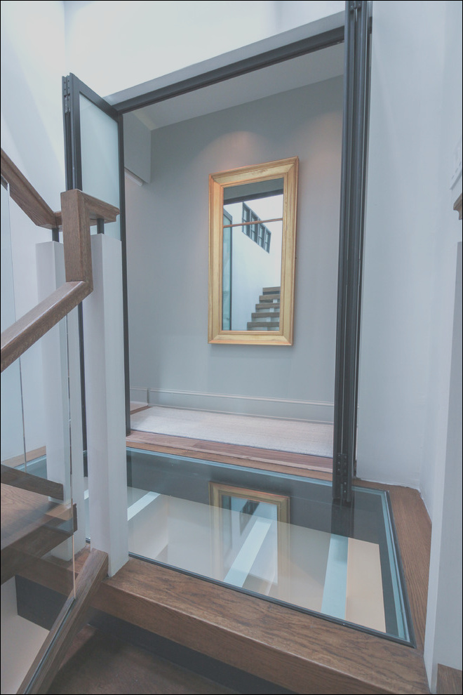 68 innovative and ultra modern stairs with glass landings washington dc contemporary staircase dc metro phvw vp