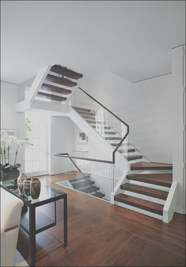 20 modern glass stair railing ideas