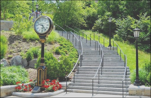 how avoid most stairs campus