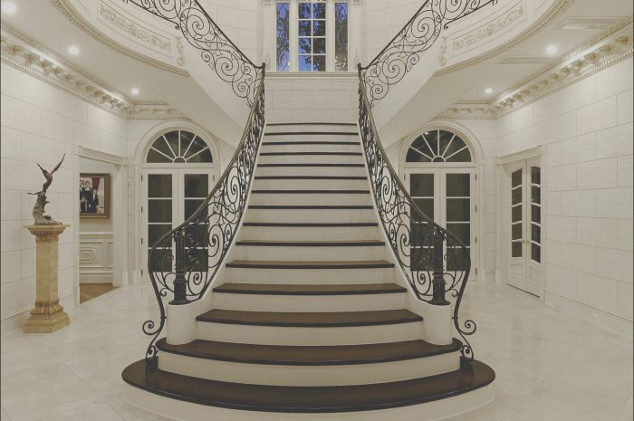 15 Typical Grand Stairs Design Photos