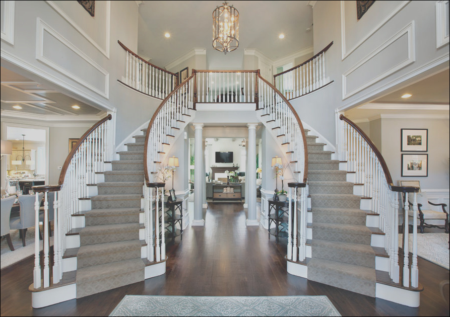 dramatic classical contemporary grand curved staircases