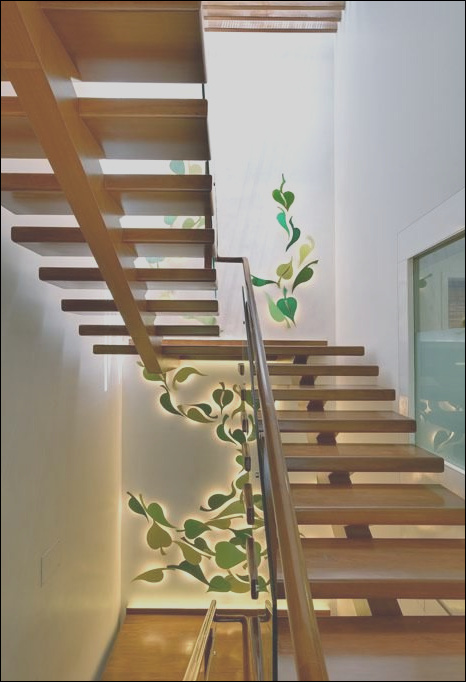 low cost indian duplex house staircase designs