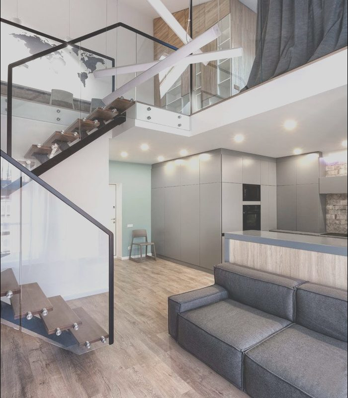 Interior Apartment Stairs Elegant Two Level Apartment by Martinarchitects