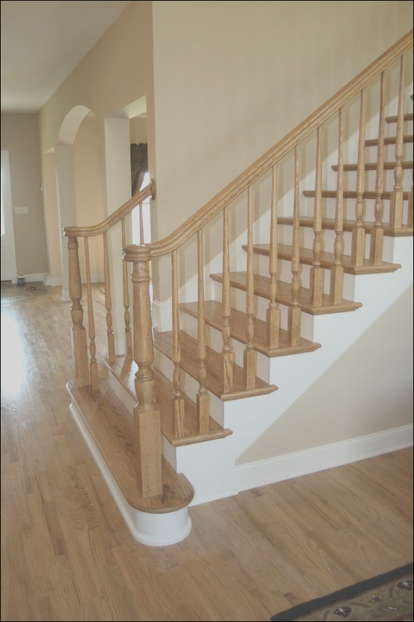 interior staircase ideas newel post