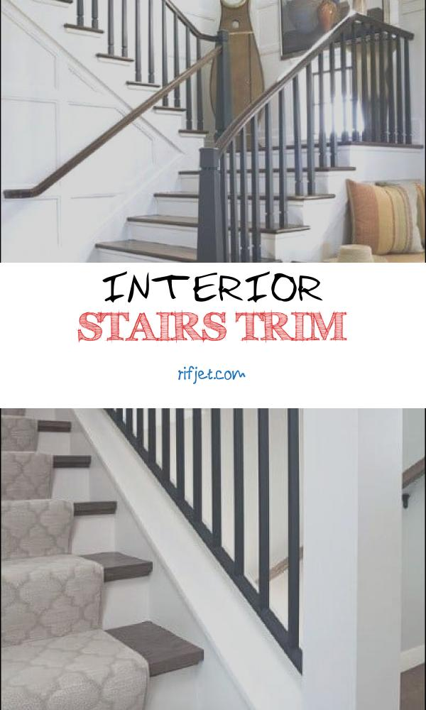 Interior Stairs Trim Inspirational top 60 Best Stair Trim Ideas Staircase Molding Designs