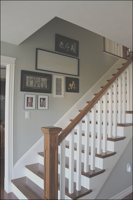 good idea for stair trim when we finally to the steps