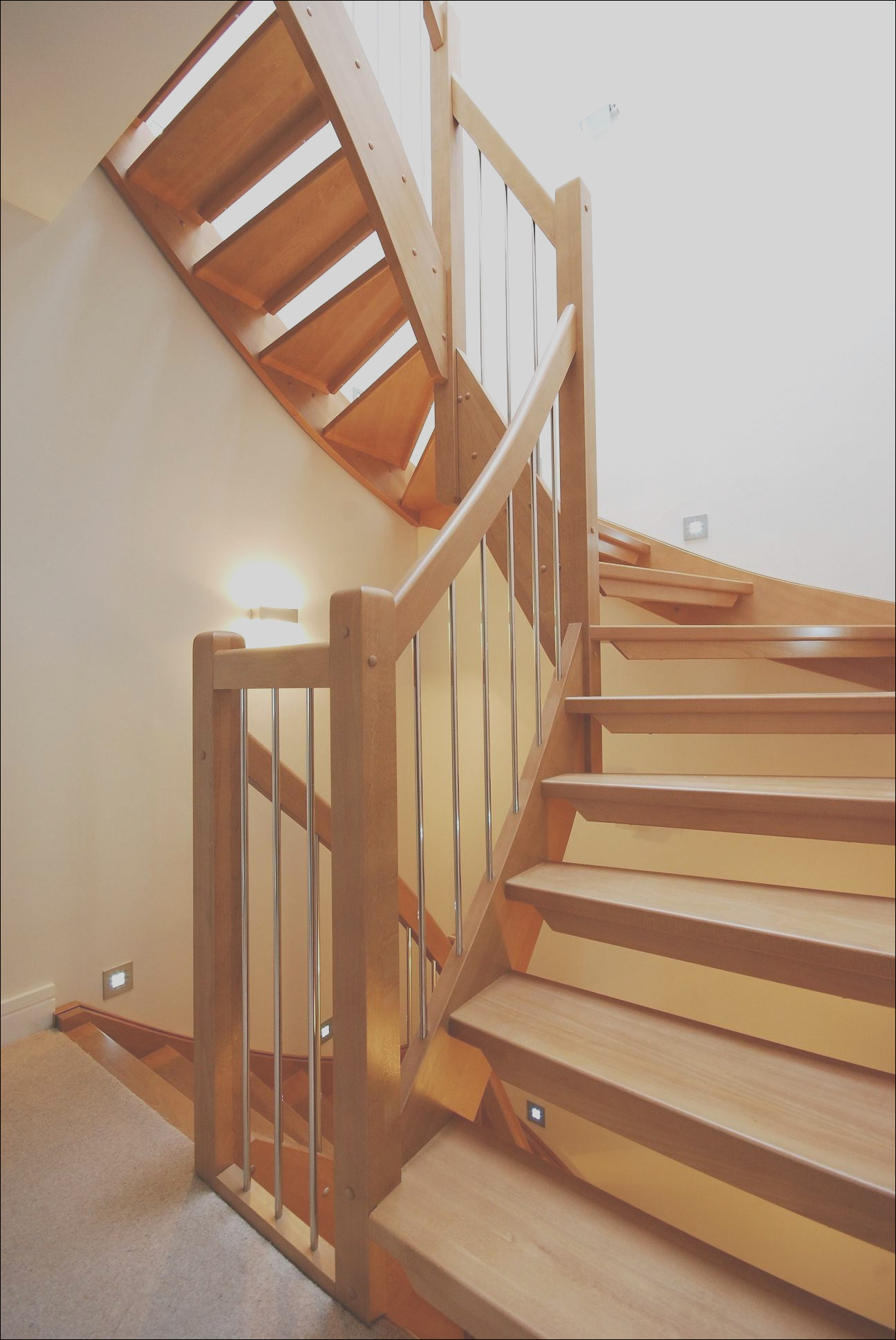 bespoke wooden stair west london timber