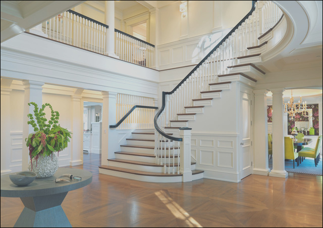 Entry Halls and Main Stairs traditional staircase boston