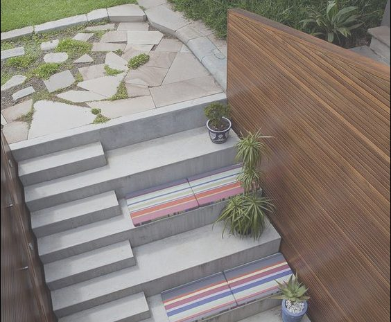 15 Quoet Modern Garden Stairs Photography