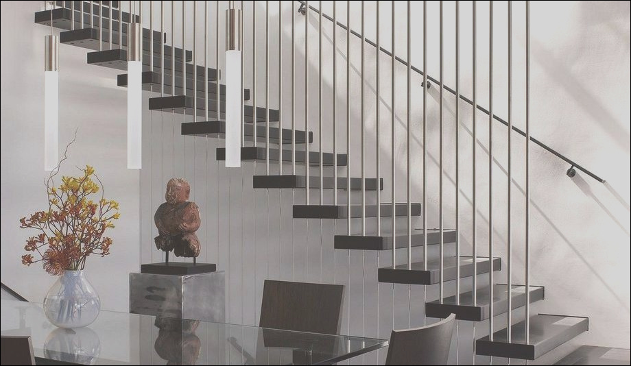 40 awesome modern stairs railing design for your home