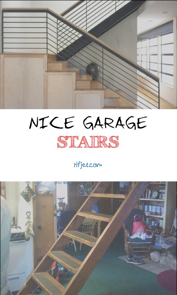 15 Quirky Nice Garage Stairs Images