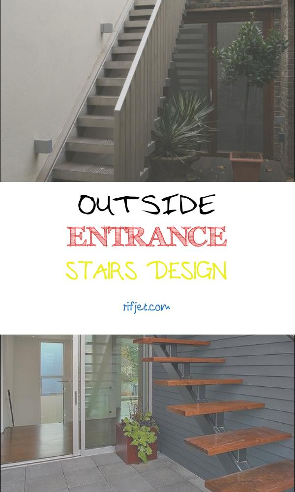 Outside Entrance Stairs Design New Exterior Design Narrow Outside Metal Stair Design How to