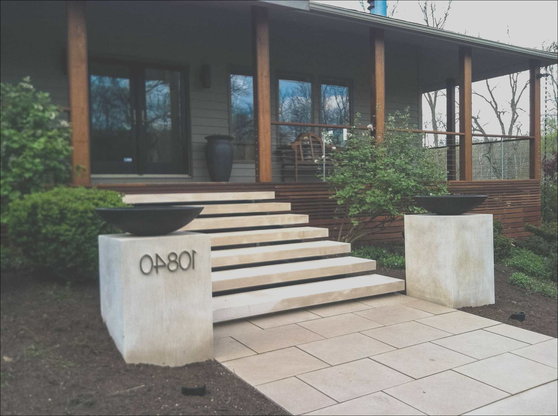 outside stairs for house