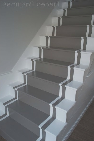 17 creative ideas for painting stairs