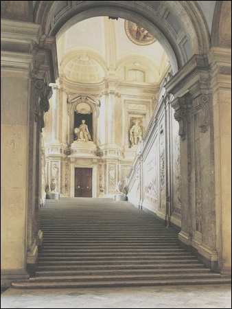 Interior Staircase Royal Palace of Caserta Posters i