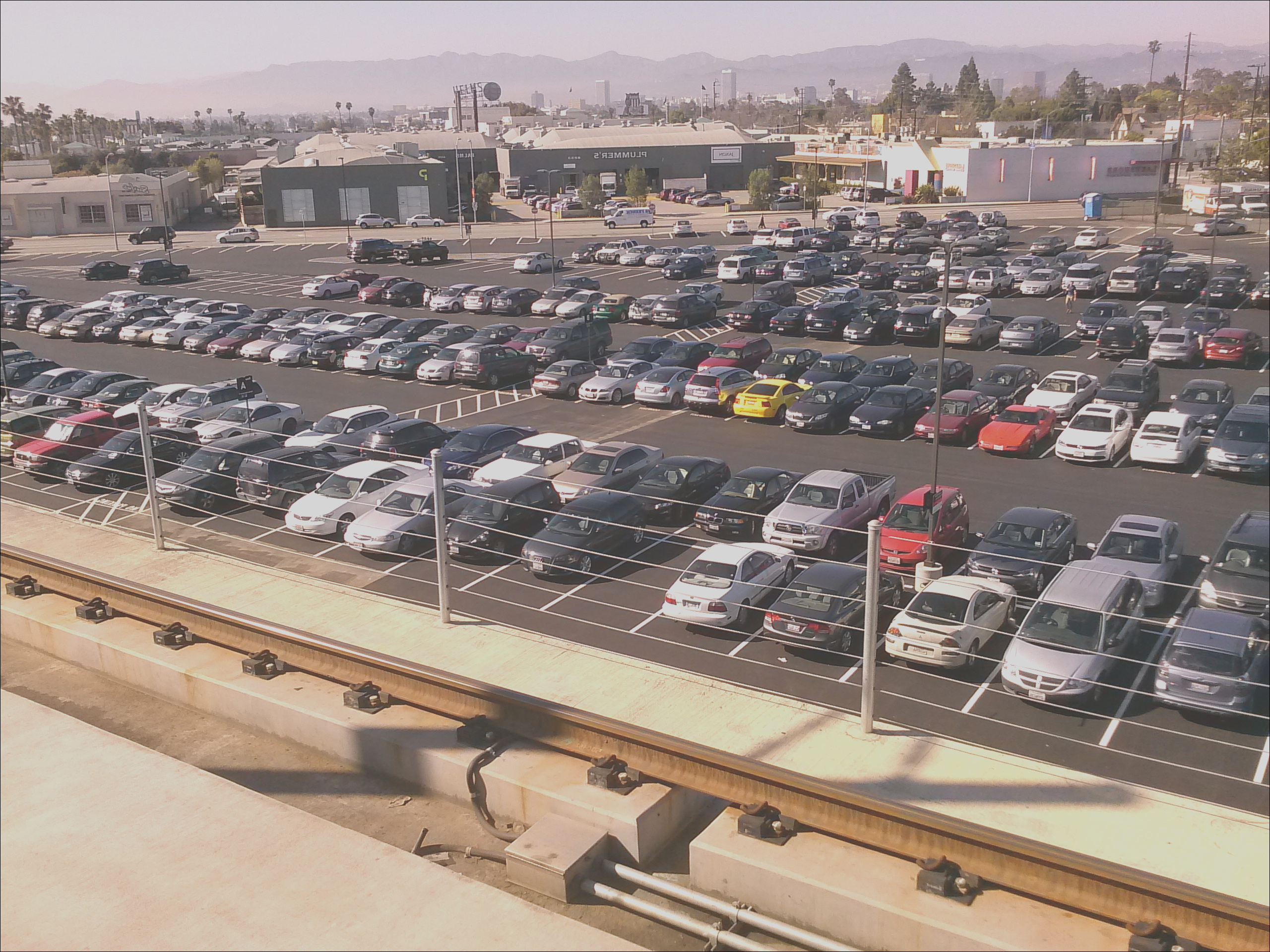 culver city station parking lot to close for construction of new development