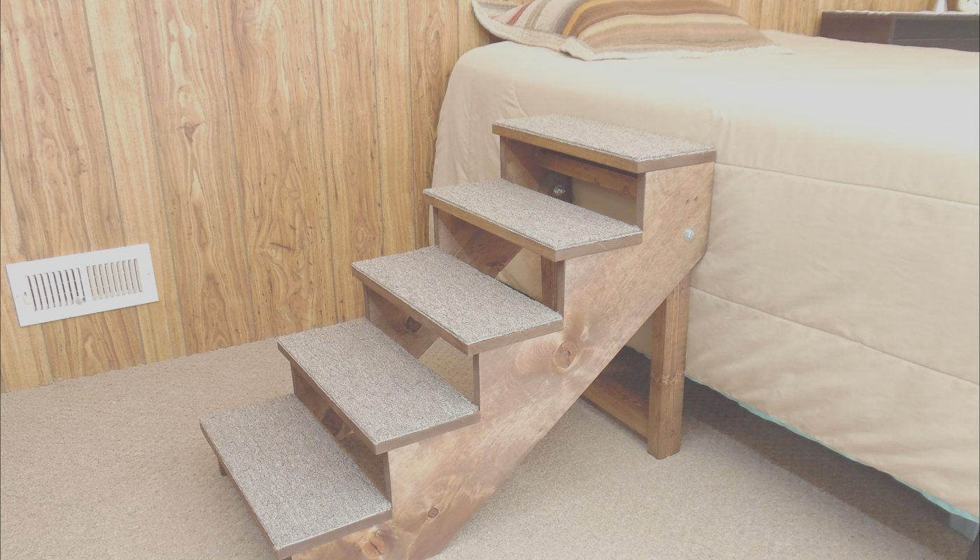 Pet Furniture Stairs Inspirational 18 38 Tall Wood Dog Stairs Handmade Folding Pet Steps 12