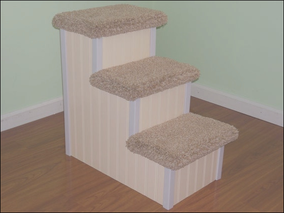 24 inch high 3 tier dog steps for sale