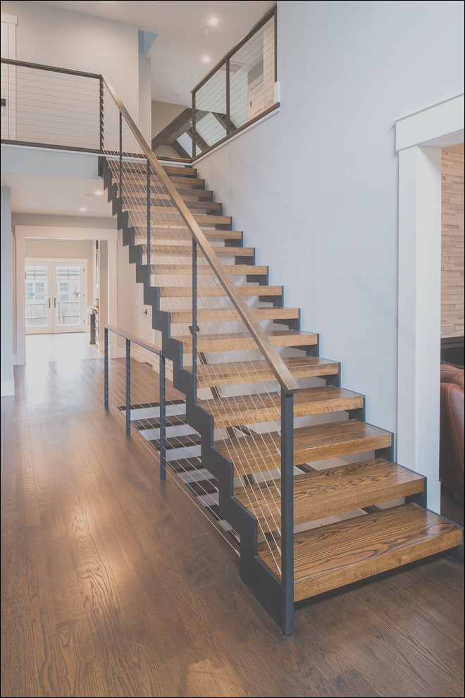 interior floating stairs and cable railings traditional staircase new york phvw vp