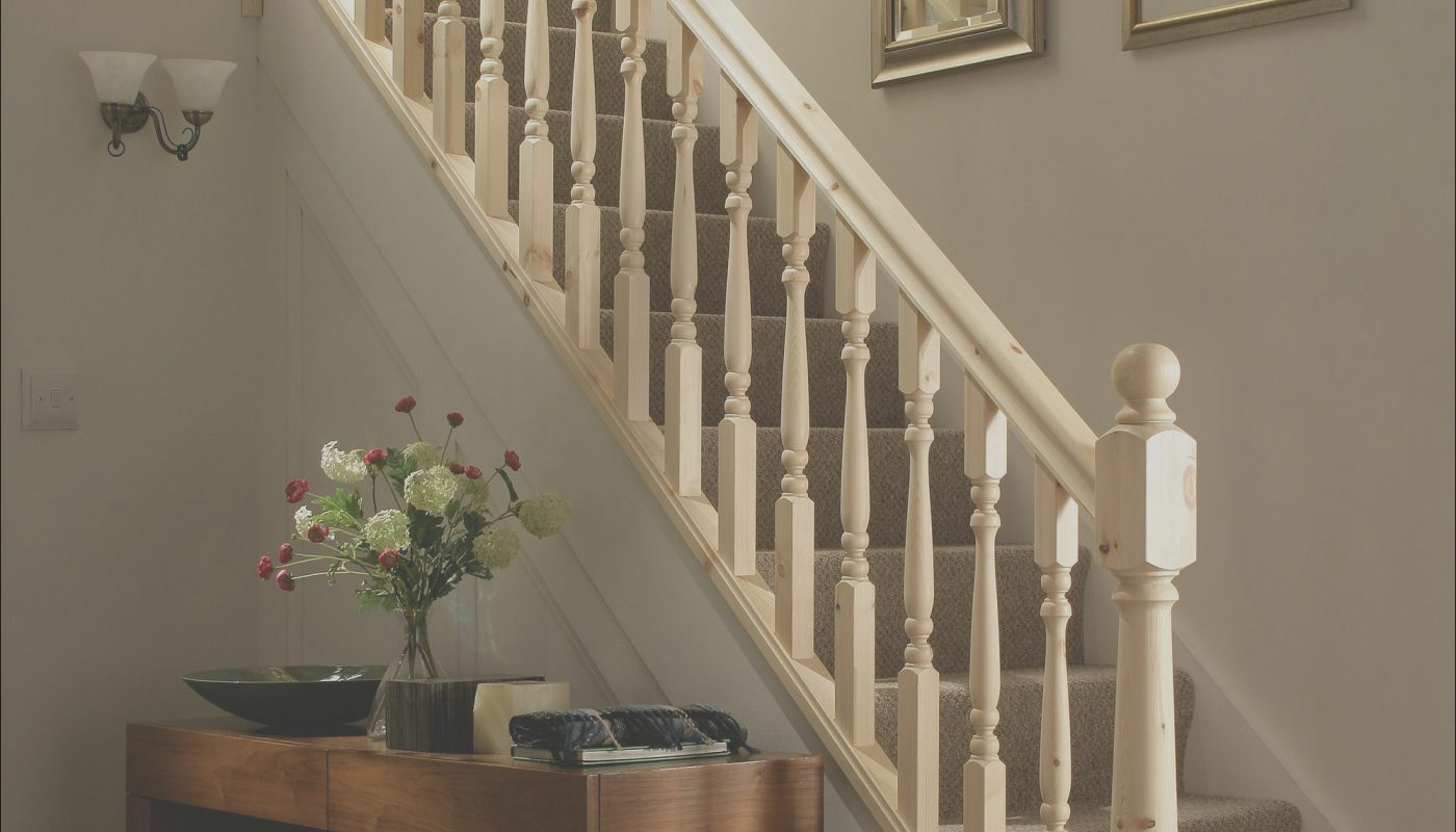 Pine Stairs Interior Design Beautiful Traditional Turned Style Pine Staircase