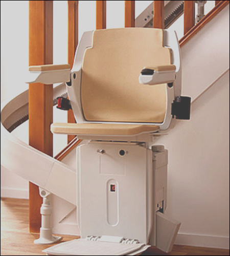 lift stair curved