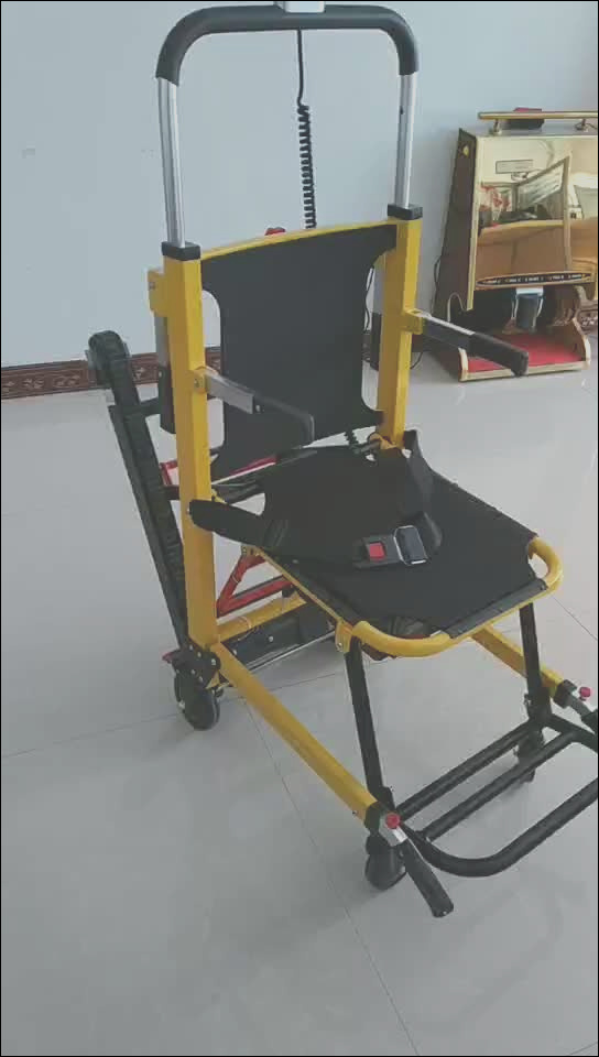 Electric Stair Climbing Wheelchair Foldaway Motorized
